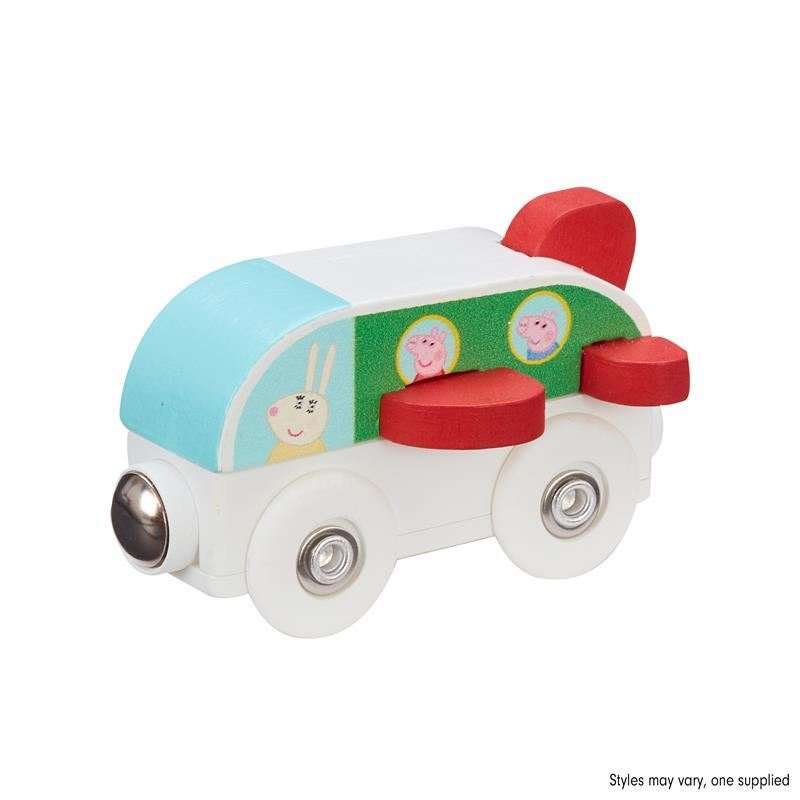 Picture of Peppa Pig Wooden Mini Vehicles - Jet