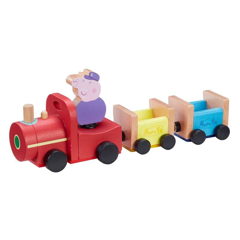 Picture of Peppa Pig Wooden Grandpa Pig's Train