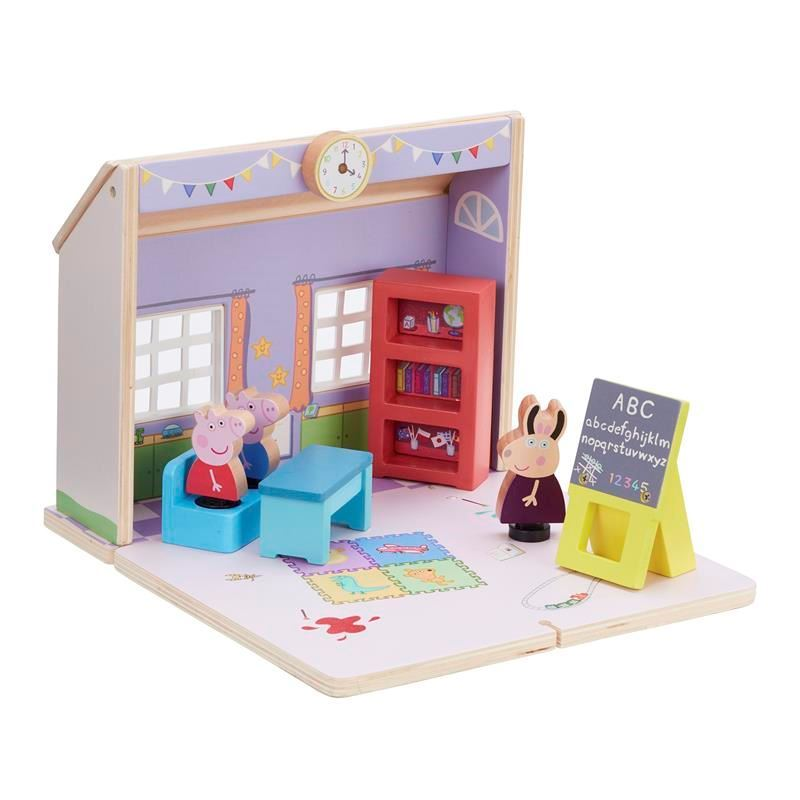 Picture of Peppa Pig Wooden Schoolhouse
