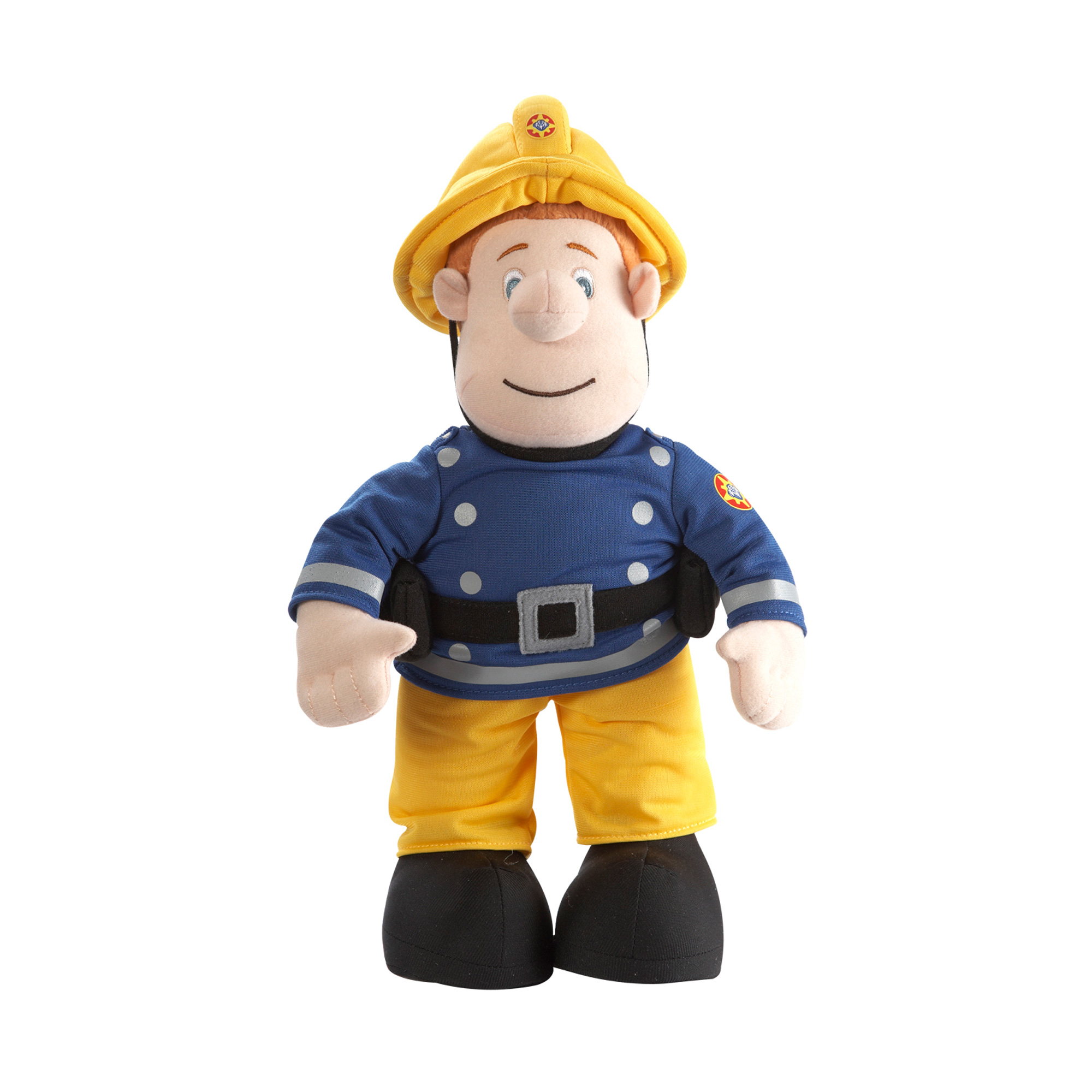 Picture of Talking Fireman Sam 12-Inch Soft Toy