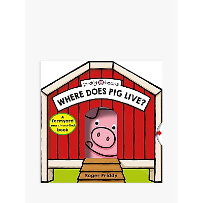 Picture of Where Does Pig Live? Children's Book