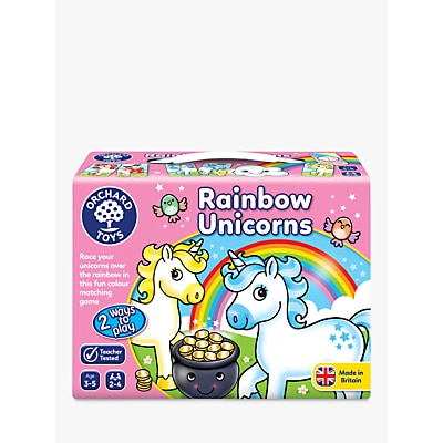 Picture of Orchard Toys Rainbow Unicorns Game