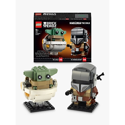 Picture of LEGO BrickHeadz 75317 Star Wars The Mandalorian & The Child