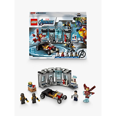 Picture of LEGO Marvel Avengers 76167 Iron Man Armoury