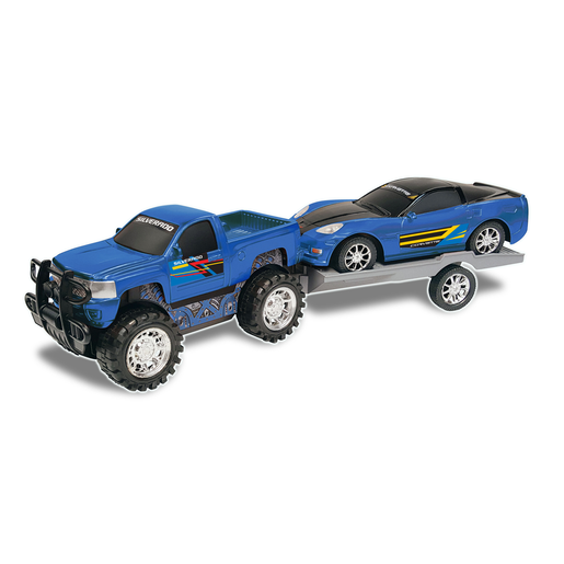 Picture of Truck and Trailer - Blue
