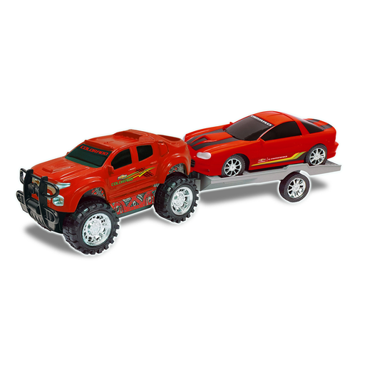 Picture of Truck and Trailer - Red
