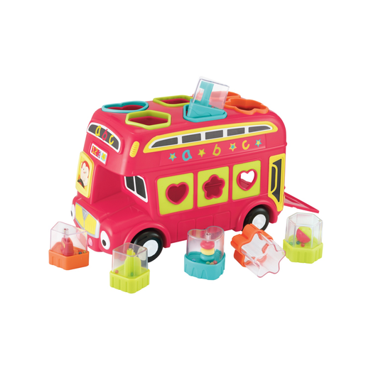 Picture of Early Learning Centre Shape Sorting Bus - Red