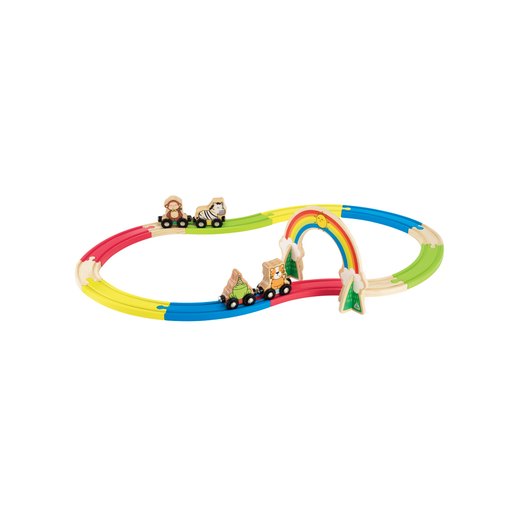 Picture of Early Learning Centre Wooden Animal Train Set