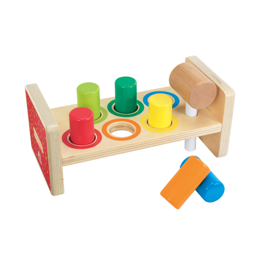Picture of Early Learning Centre Wooden Hammer Bench