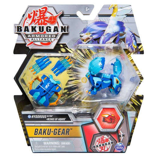 Picture of Bakugan Armoured Alliance Baku-Gear - Hydorous Ultra and Wings of Aquos