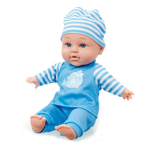 Picture of Be My Baby Cuddly Baby - Blue Outfit