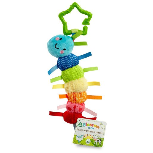 Picture of Blossom Farm Cookie Caterpillar Rattle