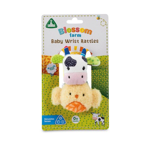 Picture of Blossom Farm Baby Wrist Rattles