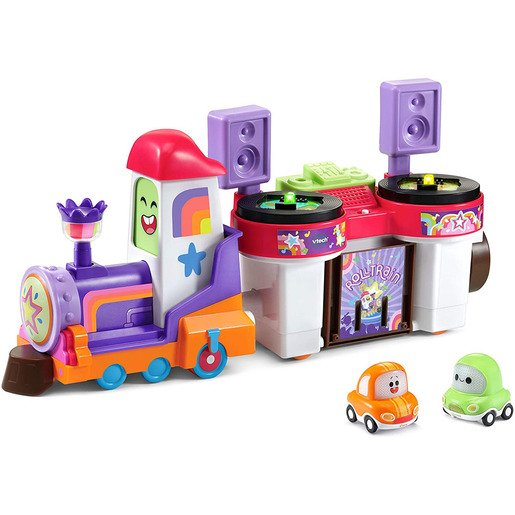Picture of VTech Toot-Toot Drivers Cory Carson - DJ Trax & The Roll Train