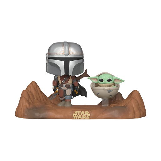 Picture of Funko Pop! Star Wars: The Mandalorian With The Child (Bobble-Head)