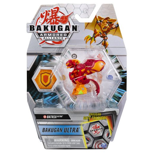 Picture of Bakugan Armored Alliance Ultra Trading Card and Figure - Batrix