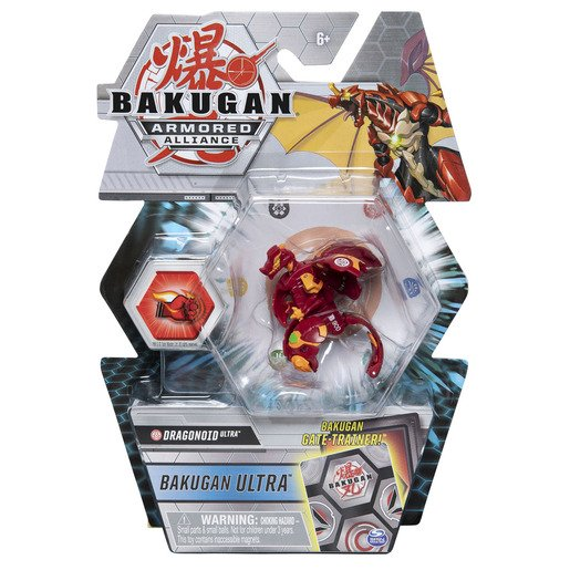Picture of Bakugan Armored Alliance Ultra Trading Card and Figure - Dragonoid (Styles Vary)