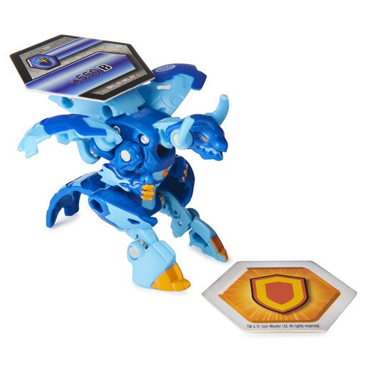 Picture of Bakugan Armored Alliance Ultra Trading Card and Figure - Eenoch