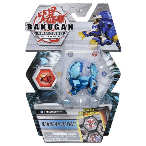 Picture of Bakugan Armored Alliance Ultra Trading Card and Figure - Hydorous