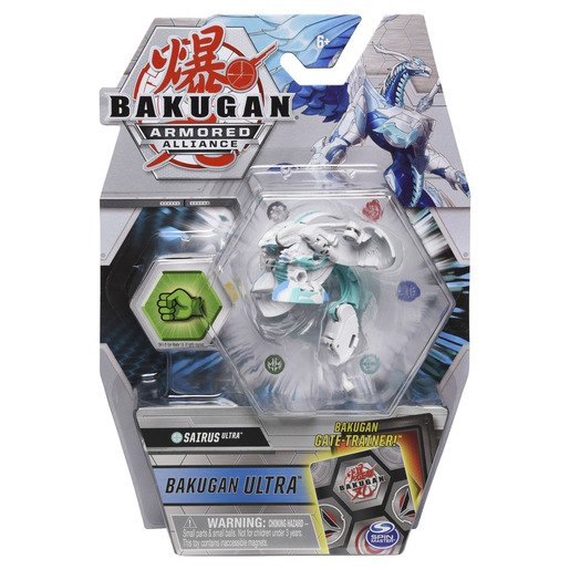 Picture of Bakugan Armored Alliance Ultra Trading Card and Figure - Sairus