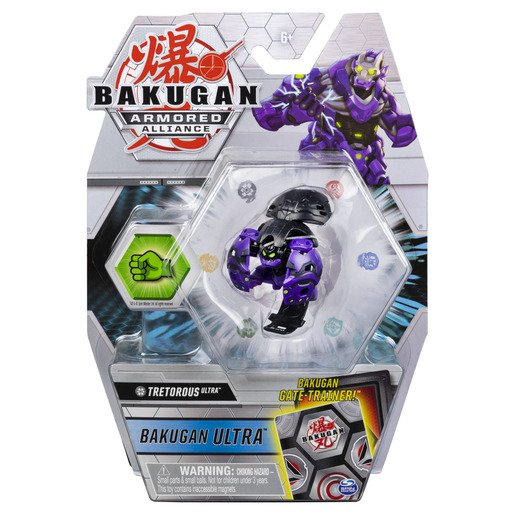 Picture of Bakugan Armored Alliance Ultra Trading Card and Figure - Tretorous