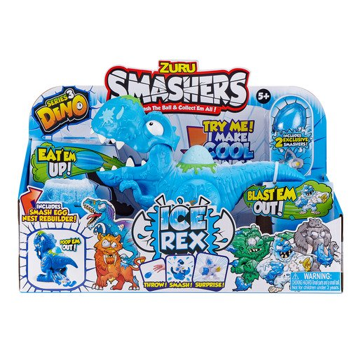 Picture of Smashers Dino Ice Age Ice Rex Playset by Zuru