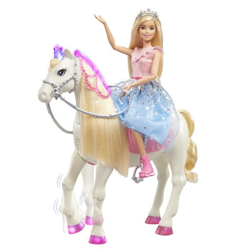Picture of Barbie Princess Adventure Prance & Shimmer Horse