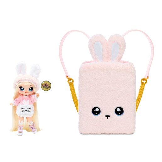 Picture of Na! Na! Na! Surprise Backpack Bedroom Playset - Pink