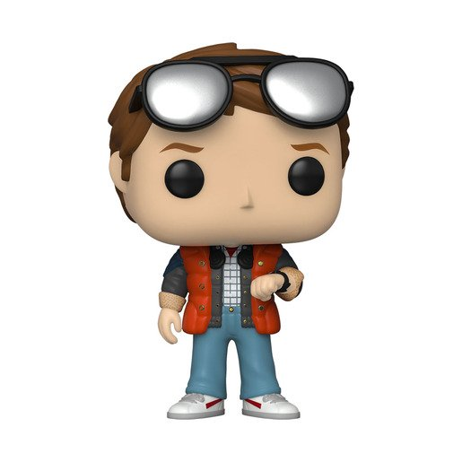 Picture of Funko Pop! Movies: Back To The Future - Marty Checking Watch (UK Exclusive)