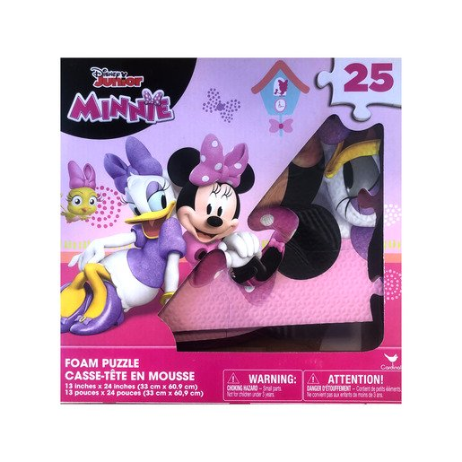 Picture of Minnie Mouse Foam Puzzle - 25 pieces