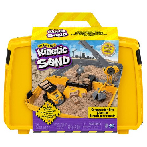 Picture of Kinetic Sand Construction Side Sand Box