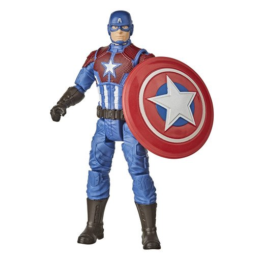 Picture of Marvel Gamerverse Captain America Shining Justice Figure