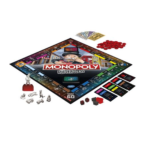 Picture of Monopoly For Sore Losers Board Game