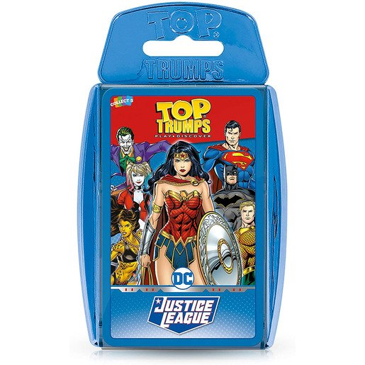 Picture of Justice League Top Trumps Card Game