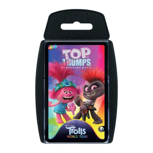 Picture of Trolls 2 Top Trumps Card Game