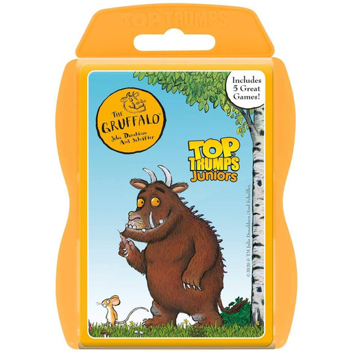 Picture of Gruffalo Juniors Top Trumps Card Game