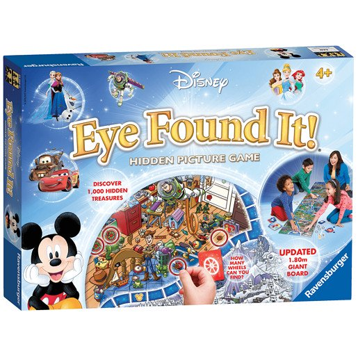 Picture of Ravensburger Disney Eye Found It - Hidden Picture Game