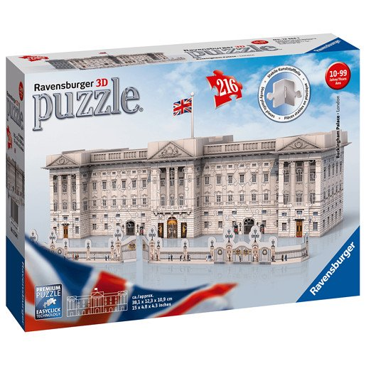 Picture of Ravensburger Buckingham Palace 3D Jigsaw Puzzle-216pc
