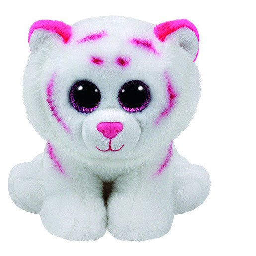 Picture of Ty Beanie Babies 15cm Soft Toy - Tabor the White Tiger