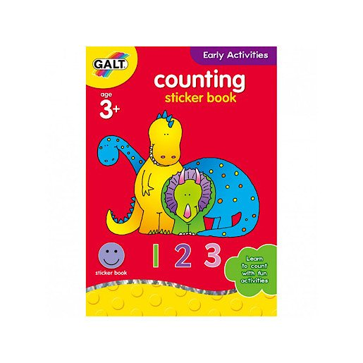 Picture of James Galt Early Activities Counting Sticker Book