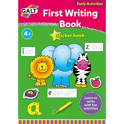 Picture of James Galt First Writing Book