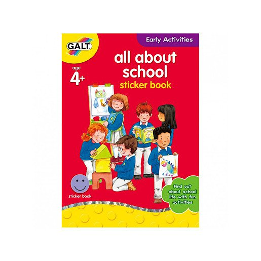 Picture of James Galt Early Activities All About School Sticker Book