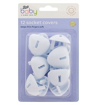 Picture of Boots Baby Plug Socket Covers - 12 pack