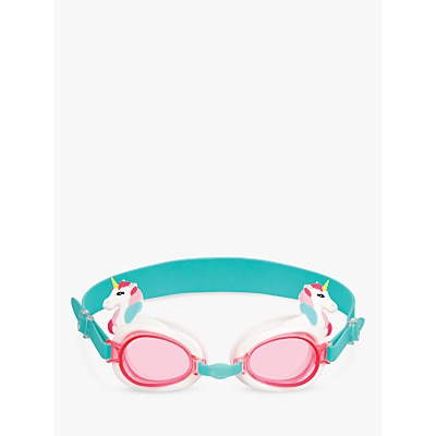 Picture of Sunnylife Children's Unicorn Swimming Goggles, Pink/Teal