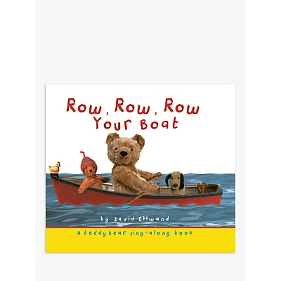 Picture of Row, Row, Row Your Boat Children's Book