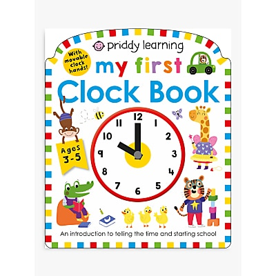 Picture of My First Clock Children's Book