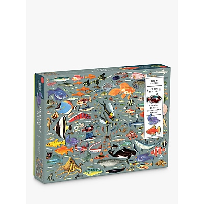 Picture of Galison Deepest Dive Jigsaw Puzzle, 1000 Pieces