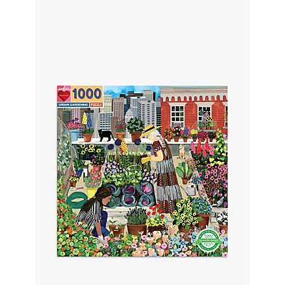 Picture of eeBoo Urban Gardening Jigsaw Puzzle, 1000 Pieces