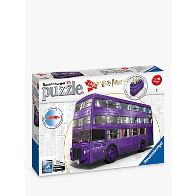 Picture of Ravensburger Harry Potter Knight Bus 3D Jigsaw Puzzle, 216 Piece