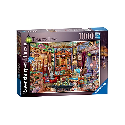 Picture of Ravensburger Treasure Trove Jigsaw Puzzle, 1000 Pieces